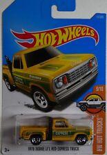 Hot Wheels Basic Car 1:64 Sealed Brand New Trucks 1978 Dodge Li'L Red Express