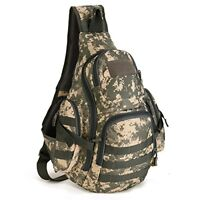 Tactical Military Sling Chest Daypack MOLLE Laptop Backpack Shoulder Duffel Bags