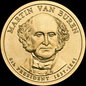 2008 P 8th President Martin Van Buren MS67 First Day of Issue