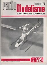 RADIO MODELISME N°72 CONCTRUCTION DU FLY BOY , LAILE / BIMOTEUR /HELICOPTERE 505