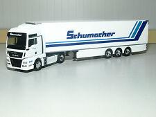 Herpa MAN TGX XXL Euro6 Kühlkoffer-Sattelzug Spedition Schumacher 306263