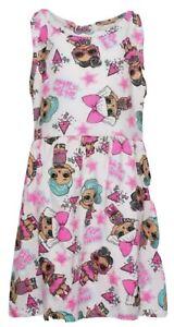 Girls Lol Dolls Suprise Dress summer Kids Party dresses Skater beach NEW