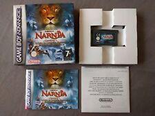 LE MONDE DE NARNIA CHAPITRE 1 pour Nintendo Gameboy Advance Disney AGB P B2WP
