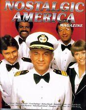 NOSTALGIC AMERICA MAGAZINE LOVE BOAT COVER Captain Stubing
