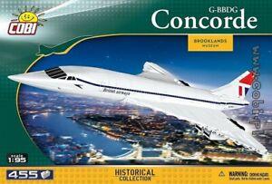 COBI  1917  Concorde G-BBDG   blocks supersonic turbojet passenger plane