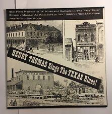 HENRY THOMAS ~ SINGS THE TEXAS BLUES ~ OJL 3 ~ ORIGIN JAZZ LIBRARY LP
