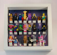 Display Frame Case for Lego Movie 2 minifigures Series CMF 71023 no figures 25cm