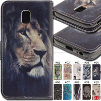 For Samsung Galaxy J3(2017) Stand Card Wallet PU Leather Luxury Case Flip Cover