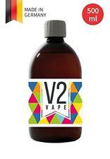 V2 Vape Glycerin VG E-Liquid Grundstoff Base 500ml Pharmaqualität reinst 0mg