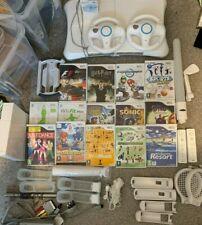 Nintendo Wii Bundle 14 Games + Accessories