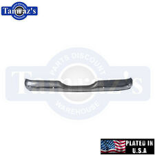 55 - 66 Chevy Stepside Pick Up Rear Bumper USA Plated New