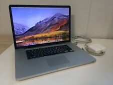 "17"" Apple MacBook Pro Late 2011 MD311LL/A 2.4GHz i7 16GB 750GB Hi-Res"