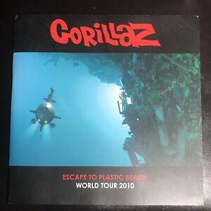 Gorillaz Escape To Plastic Beach Official 2010 World Tour Program VERY RARE