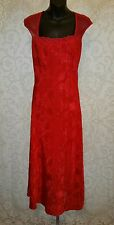 Victoria's Secret Sexy Pinup Long Red Nightgown Sz S #2558