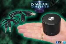 Rechargeable Bluetooth Speaker for Spirit Box PSB7 EVP MP3 USB Ghost Hunt Black