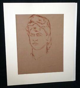 "1940s Hawaii WC Painting ""Princess Kapoʻoloku"" Madge Tennent (1889-1972)(DAT)#6"