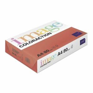 2500 Blatt Kopierpapier Image Color A4 80g intensivrot intensiv farbiges Papier