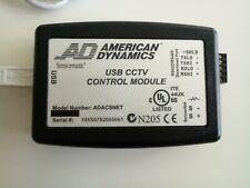 AMERICAN DYNAMICS USB CCTV CONTROL MODULE
