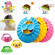 Bébé Tearless Shower Shampooing Visor Eye Shield Chapeau Wash Safe Hair