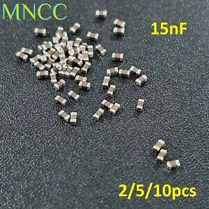 0603 1608 15nF 50V 10% MLCC Chip Capacitor SMD Multi Layer Ceramic X7R Loose