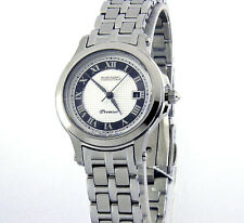 SEIKO LADIES PREMIER JAPAN MADE SOLID STEEL SAPPHIRE CRYSTAL SXDE41 SXDE41P1