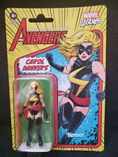 MARVEL LEGENDS 2021 RETRO HASBRO KENNER AVENGERS CAROL DANVERS Figure Captain