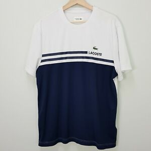 LACOSTE Sport Mens Size XL Ultra Dry S/S Tee / T-shirt Top