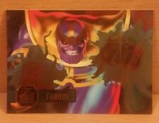 MARVEL ANNUAL '95 FLAIR - 'THANOS'