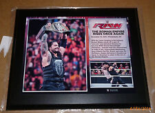 WWE PLAQUE THE ROMAN EMPIRE RISES ONCE AGAIN RARE WRESTLE COLLECTOR