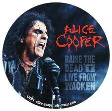 ALICE COOPER Wake The Dead: Live From Wacken Ltd Ed RARE Sticker +FREE Stickers!