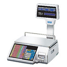 CAS CL5500R-60(NE), Label Printing Scale with Pole Display & Built-in Ethernet