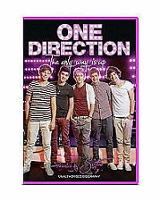 One Direction - The Only Way Is Up (DVD, 2012) new and sealed freepost