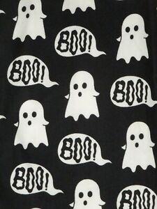 LuLaRoe OS ~ Halloween Black & White Ghost Boo Goblins Ghouls Ghosts