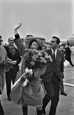 MARLENE DIETRICH / AMSTERDAM AIRPORT/ OCT. 11, 1963 / 6 RARE PHOTOS