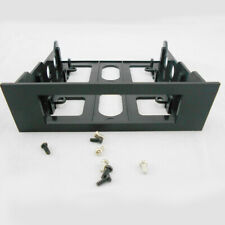 Plastic Universal Hard Drive Front Bay 3.5in To 5.25in Mount-Adapter-Bracket