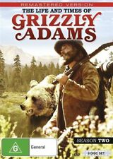 The Life And Times Of Grizzly Adams : Season 2 (DVD, 8-Disc Set) BRAND NEW