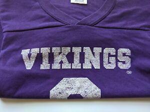 Vintage MN Minnesota Vikings Tommy Kramer 9 Jersey - Youth Medium Rawlings USA