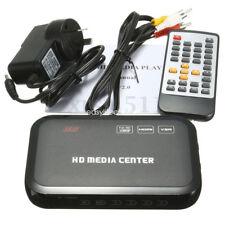 HDMI Wireless Remote Control Media Player Full HD 1080p USB TV AVI RM HDD MKV SD
