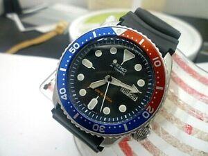 Mens 42mm SEIKO 200m Diver 7S26-0020 Pepsi 21j Automatic Watch