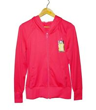 NEW! AUTHENTIC DOMYOS WOMEN'S FITNESS HOODIE ZIP UP JACKET (PINK, SIZE MEDIUM)