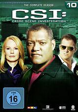 6 DVDs * CSI : LAS VEGAS  - STAFFEL / SEASON 10 # NEU OVP §