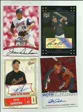 Autograph Baseball Card Lot - You Pick - Many to Choose From - Auto