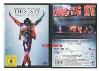 DVD This Is It (Neu/Ovp) - Dokumentation, Musik - Michael Jackson