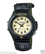 FT-500WC-3B Black Green Genuine Casio Men's Watches  LED light and