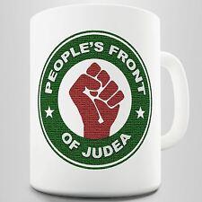 People Front Of Judea Novelty Mug