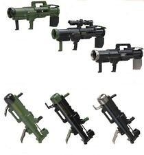 Miniature Action Figure Shooting Gun Bazooka Rocket Launcher 1 Random Toy
