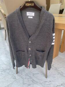 Thom Browne Classic 4 Bar Wool Cardigan Size 1 - RRP £720