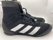 Adidas Speedex 18 Boxing Shoes F99914 Black/White Sz 12