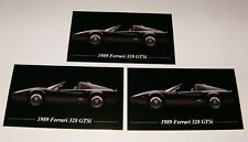 ★★3-1989 FERRARI 328 GTSI PHOTO MAGNETS GTS 89 88 87 86 85 GT SI GTS I★★