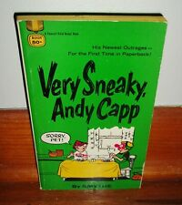 VERY SNEAKY, ANDY CAPP-Fawcett Gold Medal Book-Comic Collection-SUPERB 1969 Book